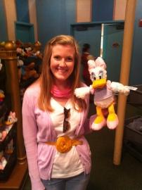 Disneybounding as Daisy Duck